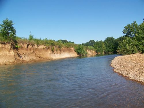 Creek Front Property Tn, Tillable : Savannah : Hardin County : Tennessee