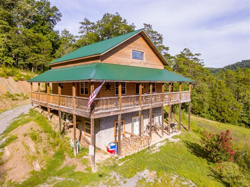 Log Home Land In East Tn Mountains : Thorn Hill : Hancock County : Tennessee