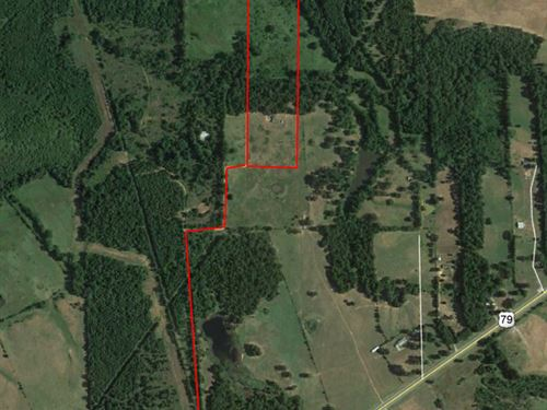 East Texas Recreational Ranch Rusk : Henderson : Rusk County : Texas
