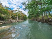 82 Acre Guadalupe River Property : Boerne : Kendall County : Texas