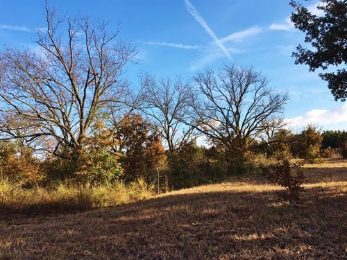 Fannin County Recreational Acreage : Bonham : Fannin County : Texas