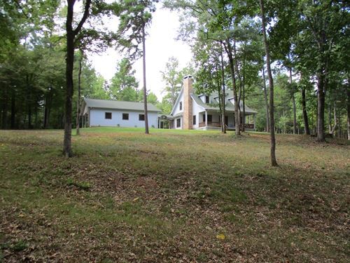 Anderson County Home, Land, Creek : Grapeland : Anderson County : Texas