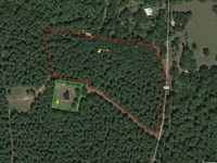 7.4 Acres Lake Sam Rayburn & Boat : Pineland : San Augustine County : Texas