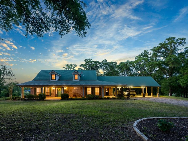 Country Home Land Fishing Lake : Tyler : Smith County : Texas