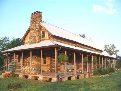Log Home, 35 Acres-Smith River : Axton : Henry County : Virginia