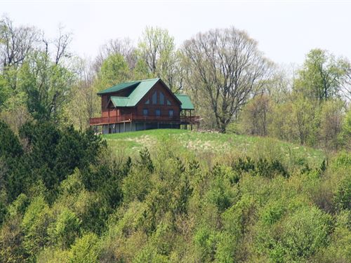 74.5 Acres/With Million Dollar : Blue Grass : Highland County : Virginia