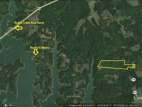 Reduced Lakefront Acreage Buggs : Boydton : Mecklenburg County : Virginia