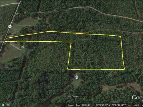 Reduced Lake Access Acreage Buggs : Boydton : Mecklenburg County : Virginia