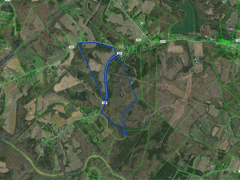 136 + Acres Danville Va : Danville : Pittsylvania County : Virginia