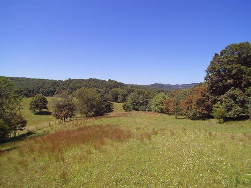 Acreage, Views Water Blue Ridge : Elk Creek : Grayson County : Virginia