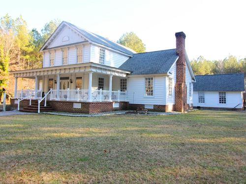 Custom Home On Private Farm : Emporia : Southampton County : Virginia