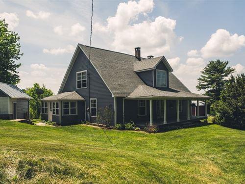 Home & Farm For Sale in Floyd VA : Floyd : Virginia