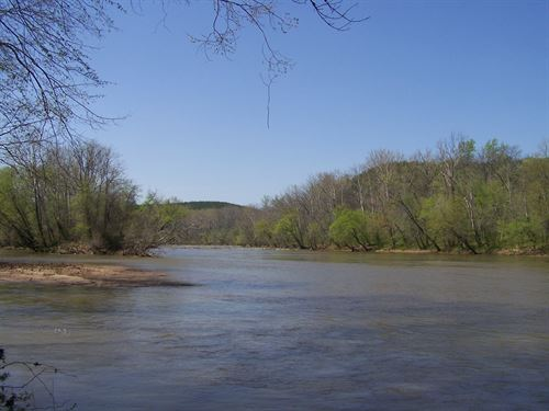 100 Acres River Front Property : Long Island : Pittsylvania County : Virginia