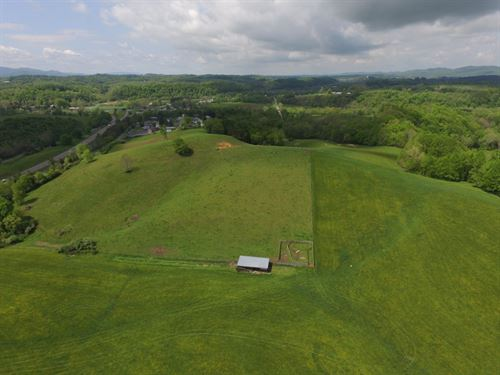 31.5 Acre Farm Tract Including : Marion : Smyth County : Virginia