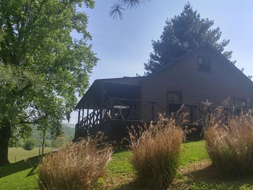 Riverfront Home Acreage Mendota VA : Mendota : Washington County : Virginia