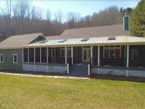 Blue Ridge Mountain Home Trout : Mouth Of Wilson : Grayson County : Virginia