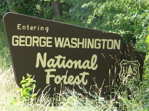 12+ Acres Bordering George : New Market : Shenandoah County : Virginia
