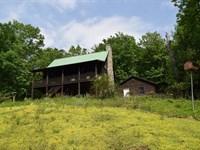 Recreational Log Home Stuart VA : Stuart : Patrick County : Virginia