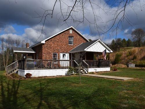Farm With Remodeled Home Floyd VA : Willis : Floyd County : Virginia