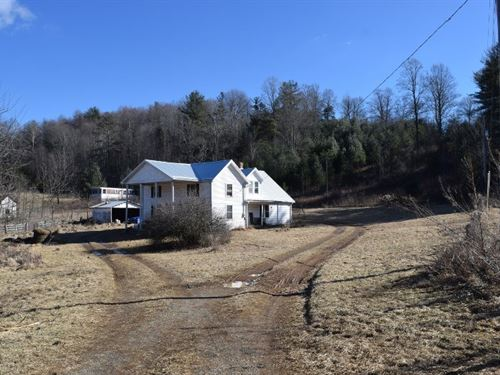 Mini Farm in Floyd VA With Barn : Willis : Floyd County : Virginia