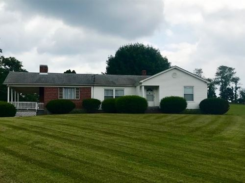 Country Home Acreage Willis VA : Willis : Floyd County : Virginia