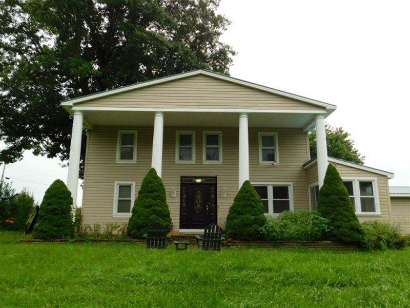 Farmhouse For Sale in Augusta, WV : Augusta : Hampshire County : West Virginia