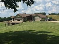 Premier West Virginia Luxury Home : Friendly : Tyler County : West Virginia