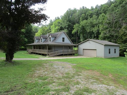 Beautiful Wv Cape Cod Home 96.52 : Jacksonburg : Tyler County : West Virginia