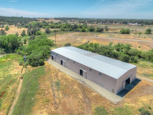 Warehouse 16,000 sf Oroville, CA : Oroville : Butte County : California