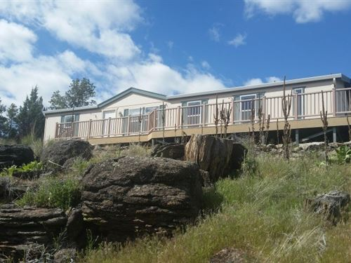 360 Degree Views 3 Br/2 Bth : Canby : Modoc County : California