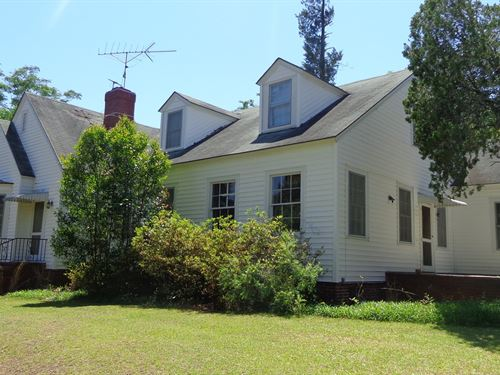 Cape Cod Cottage 5 Acres Screven : Sylvania : Screven County : Georgia