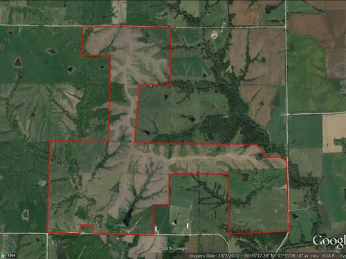 Grand River IA Farm 1021.8 Acres : Grand River : Decatur County : Iowa