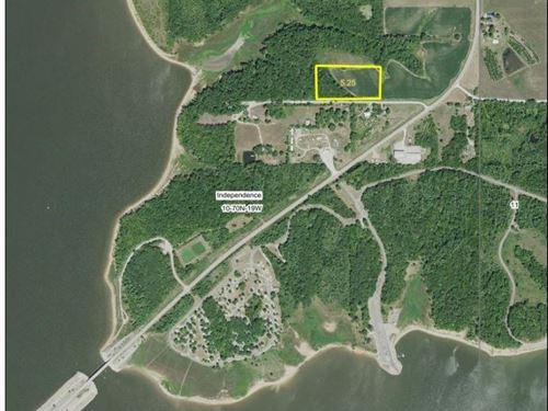 5.25 Acres Rathbun Lake Hunting : Melrose : Appanoose County : Iowa