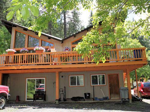 Home, Timbered Acres, 44586 Bobbit : Orofino : Clearwater County : Idaho