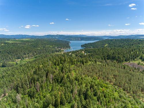 Idaho Exceptional Acreage Northwest : Worley : Kootenai County : Idaho