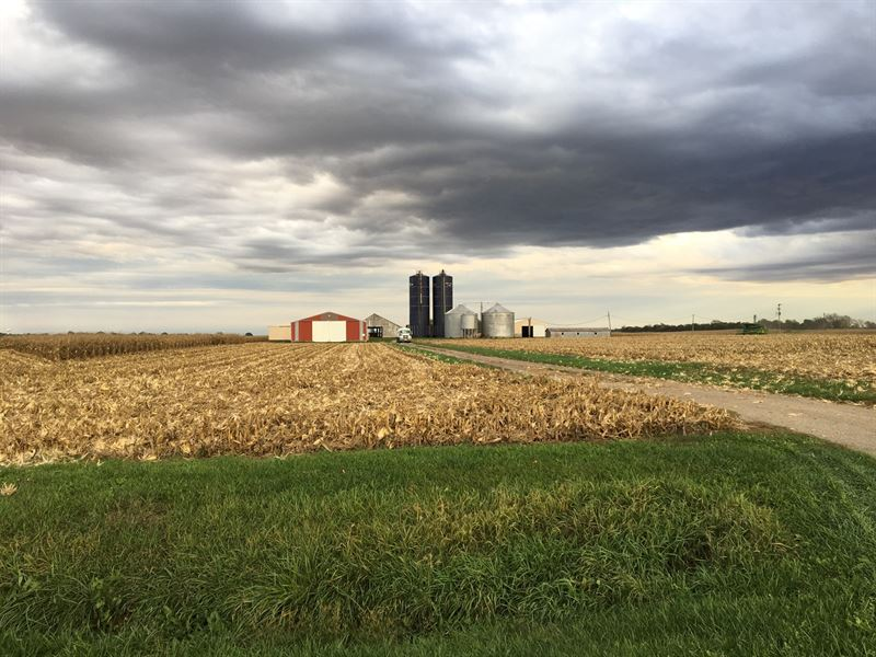 36.04 Acre Farm Menard County $9250 : Greenview : Menard County : Illinois