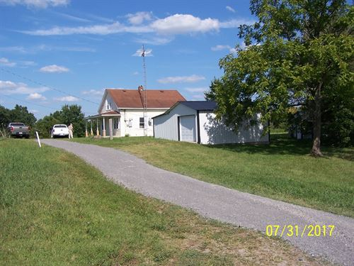 Reduced, Country Home 19 ac Windsor : Windsor : Casey County : Kentucky