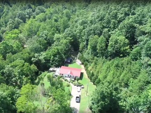 Waterfront Home 20 Acres Albany : Albany : Clinton County : Kentucky