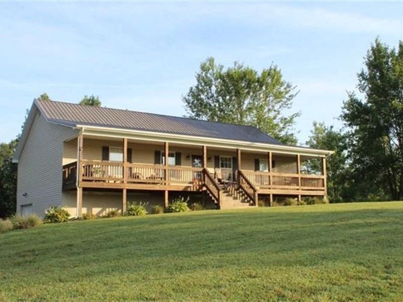 Country Home 11.59 Acre Lot Bee : Bee Spring : Edmonson County : Kentucky