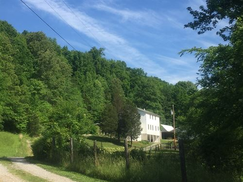 Beautiful Amish Built Home 14 Acres : Columbia : Adair County : Kentucky
