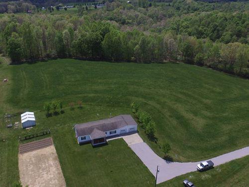 Home Garage & Outbuilding 6 Acres : Liberty : Casey County : Kentucky