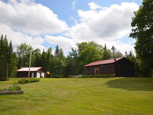 Maine Country Home in Argyle : Argyle : Penobscot County : Maine