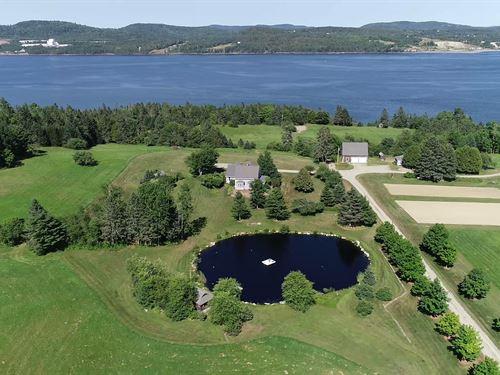 Coastal Country Estate, Calais : Calais : Washington County : Maine