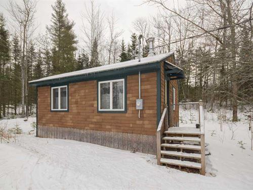 Maine Cabin in Dover Foxcroft : Dover-Foxcroft : Piscataquis County : Maine