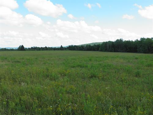 Maine Farm Land in Dyer Brook : Dyer Brook : Aroostook County : Maine