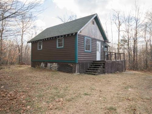 Maine Off-Grid Cabin in Lowell : Lowell : Penobscot County : Maine