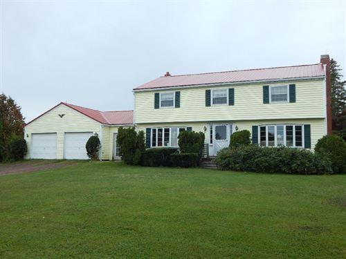 Coastal Horse Farm Surrounded 75 : Perry : Washington County : Maine