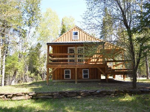 Maine Country Home in Prentiss : Prentiss : Penobscot County : Maine