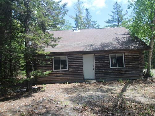 Maine Camp For Sale in Wesley : Wesley : Washington County : Maine