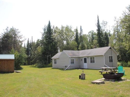 Cabin on Acreage Atlanta MI : Atlanta : Montmorency County : Michigan